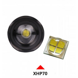 Latarka BatteryFirst Cree XHP70